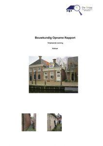 Bouwkundig Opnamerapport / Aankoopkeuring